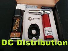 Vector Nitro Torch KGM Red + Free Lighter Ring Stand + Free Butane 3.6 fl oz