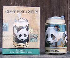 BUDWEISER ENDANGERED SPECIES GIANT PANDA STEIN... Brand New In Box COA numbered