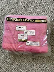 "Vintage PINK Esmond By Chatham Duraloom Blanket.  72""x90"" New."
