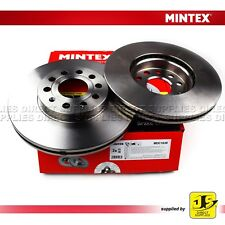 2X MINTEX FRONT BRAKE DISCS MDC1638 AUDI A3 SEAT TOLEDO SKODA OCTAVIA SUPERB VW