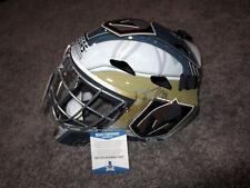 MARC ANDRE FLEURY Vegas Golden Knights Auto SIGNED full-size Goalie Mask BAS COA