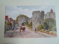 A R QUINTON Postcard 2349 TENBY WALLS & FIVE ARCHES  §A2717