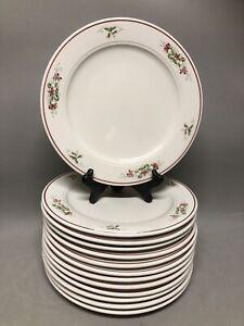 "Homer Laughlin Seville Restaurant HHA Stoneware Pink Violet Pattern 10"" Plate"