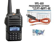 Yaesu FT-4XR Compact VHF/UHF HT Transceiver with RT Systems Programming Kit