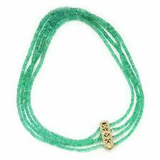 Emerald Yellow Gold Diamond Fine Necklaces & Pendants