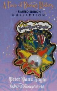 Disney Pin: Piece of Disney History 2005 Peter Pan's Flight (LE 2500)