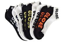 Globe Socks 5 Pack Still Walken Ankle Size 7-11 Skateboard BMX Sox