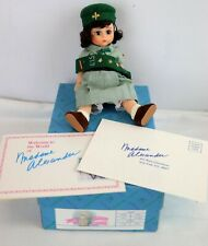 Madame Alexander 'Scouting' Girl Scout Doll #317 1990 In Original Box