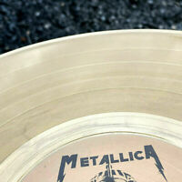 METALLICA - THE SANDMAN COMETH LIMITED EDITION INCA GOLD SWIRL COLURED VINYL LP