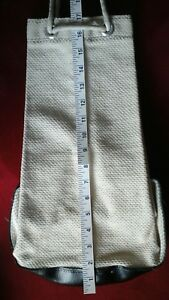 TOTE (CYLINDER FORM) AS PICTURED=JAPAN MADE W/HEAVY FABRIC=MARTIAL ARTS=