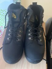 New Black Lace Up Safety Boot Earth Works Safety Size UK 11(45)