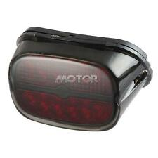 Black Integrated LED Tail Light Fit Harley Electra Glide Ultra Classic Custom