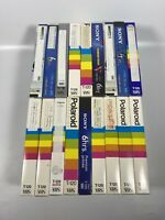 Lot Of 18 Pre-Recorded Mix Label T-120  VHS Tapes Sold As Used Blanks T2