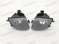 1Pair Clear Front Replacement Fog Lights Lamp for BMW 7-Series F01 F02 2009-2012