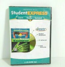 Prentice Hall Student Express Interactive Textbook 2 CD-ROM Learn Study Succeed