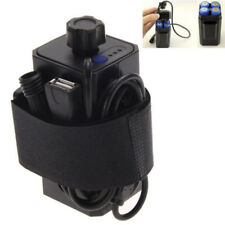 Rechargeable 8.4V 18650 Battery Pack Pouch For CREE XML-T6 LED Bike Head Lamp