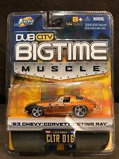 Jada Dub City Big Time Muscle '63 Chevy Corvette Sting Ray