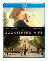 The Zookeepers Wife Blu-Ray Nuovo (8311522)