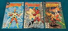 FIRESTORM 1 2 3 1st App Black Bison 1st Print CGC it DC Frost Batman JLA Adam