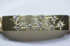 Armband 585 Gold, Gelbgold, 92,25 gramm, 1,24ct. Brillanten, Kein Bruchgold
