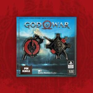 GOD OF WAR - PIN KINGS COLLECTIBLE PIN SET - BRAND NEW - PKS-GOW-1.1
