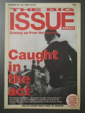 Vintage 1995 BIG ISSUE Magazine, LEIGH BOWERY, CRIMINAL JUSTICE ACT, No. 113