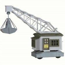 MODEL POWER 303 HO RAILROAD RAIL CRANE TRAIN BUILDING PLASTIC KIT FREE SHIP