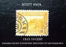 #404 – 1915 10c Panama-Pacific Exposition: Discovery of San Francisco Bay