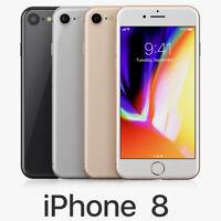 Apple iPhone 8 64GB A1863 - CDMA+GSM Unlocked, AT&T, Verizon, T-Mobile, Sprint