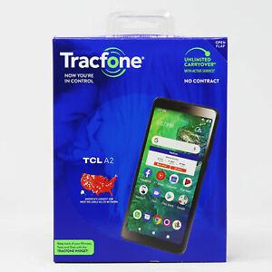 TRACFONE TCL A2 32GB Black -BRAND NEW Prepaid Smartphone
