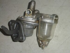 1959 Triumph TR3 Fuel Pump - CORE for rebuild