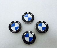 BMW Alloy Wheel Centre Caps 68mm,10 clips, x4, 1 3 5 6 7 Series E90 E34 E46 X5