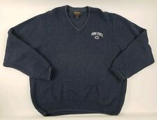 Vintage Woolrich Penn State Sweater Blue Size Large