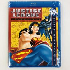 Justice League Season 1 (Blu-ray, 3-Disc Set, Dc Comics)