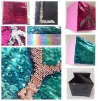 Foldable Sequin Storage Mermaids Collapsible Glitter Box Organizer Gift Girls