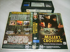 Vhs *MILLER'S CROSSING* Rare 1990 Fox Issue - Gangster Mob Action Thriller D3