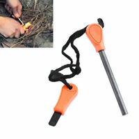 Flint Stone Rod Fire Starter Lighter Magnesium Rod Camping Hiking Survival Tool