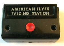 "American Flyer ""Talking Station"".Black Control Button, Premium Quality!"