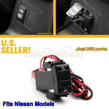 FITS NISSAN PATHFINDER/XTERRA POWER 2-PORTS 2.0A USB ADAPTER DIRECT FIT PLUG IN