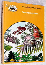 1979~Author's Copy~1st~TWO MONKEY TALES~WHIZZ BANG~Patricia Gray~David Mackay~HB