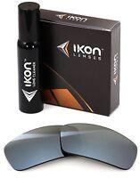 Polarized IKON Replacement Lenses For Oakley Canteen 2006 Silver Mirror