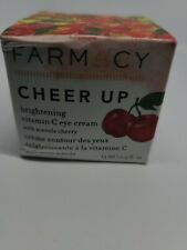 Farmacy Cherry Up Brightening Vitamin C Eye Cream 0.5oz Free Shipping