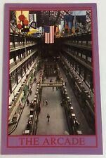 Vintage Postcard The Arcade Cleveland Ohio