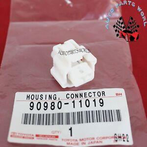 NEW GENUINE OEM TOYOTA SUPRA SCION HOUSING CONNECTOR F 90980-11019
