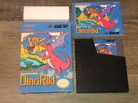 Adventures of Dino Riki Nintendo Nes Complete Near Mint Condition Authentic