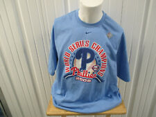 VINTAGE NIKE PHILADELPHIA PHILLIES 2008 WORLD SERIES CHAMPIONS MEDIUM SHIRT NWT