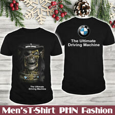 BMW/Speed/Men's 2D US T-Shirt/Skull/Durable Machine/Logo In The Back/Hot Gift