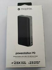 Mophie Powerstation PD 6700 mAh Portable Charger Battery 18W 2.5 x Fast Charge