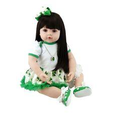Bébé reborn fille poupée réaliste bébé réaliste poupées bébés Cadeaux Jouets silicone