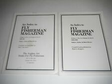 An Index to Fly Fisherman Magazine (2 issues) Vol 1 to Vol 16 1969 to 1985